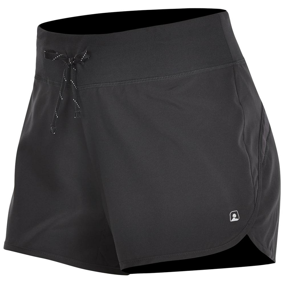 EMS® Women's Techwick® Impact Running Shorts - BLACK