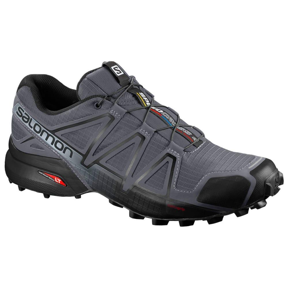 SALOMON Men's Speedcross 4 Trail Running Shoes, Wide - DK CLOUD BLK PEARLGR
