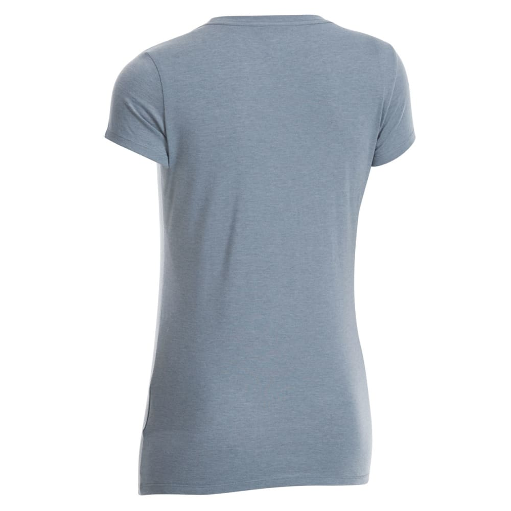 EMS Women's Techwick Vital Crew Short-Sleeve Tee - NEUTRAL GREY HTR