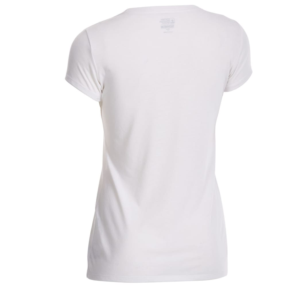 EMS Women's Techwick Vital Crew Short-Sleeve Tee - SNOW WHITE