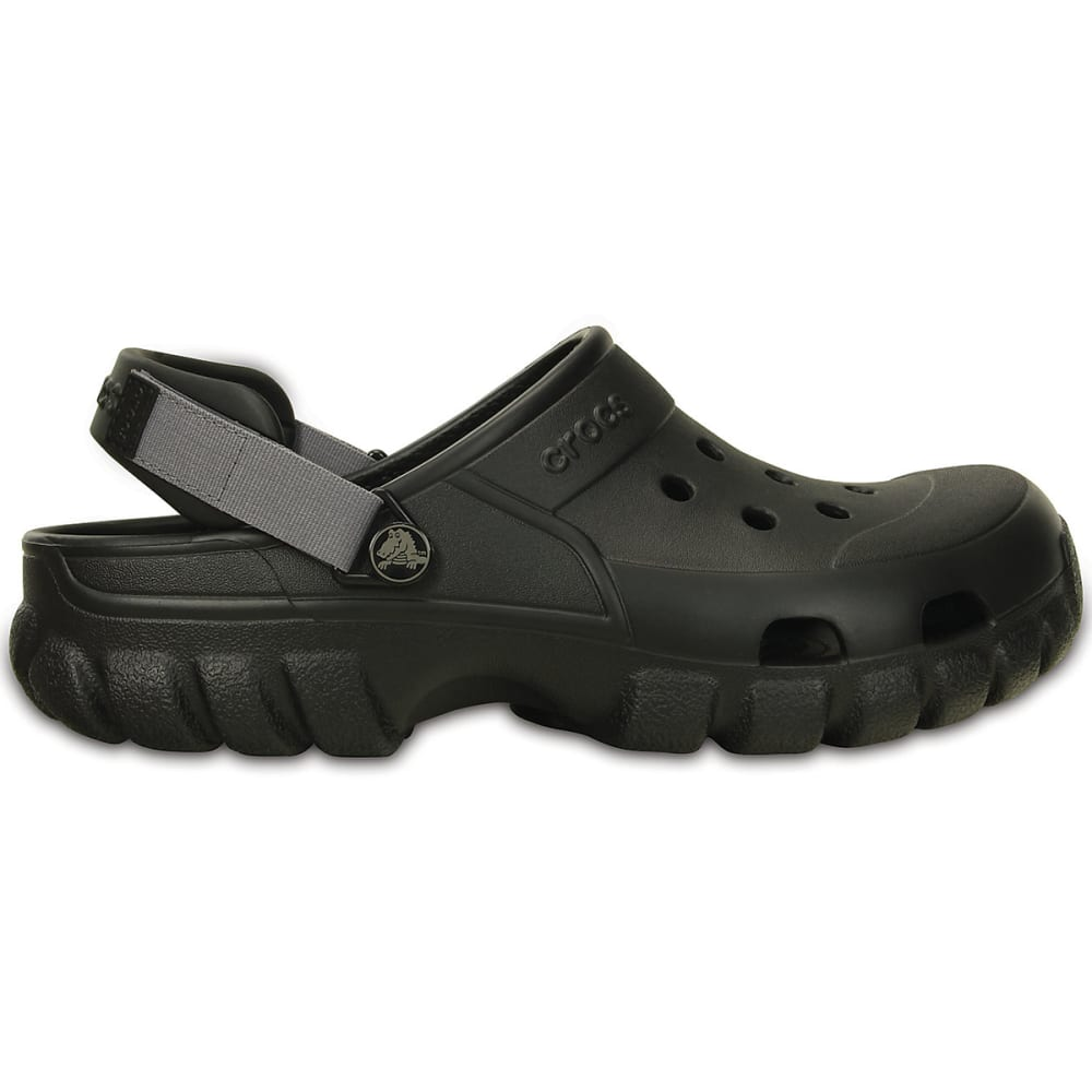 CROCS Men's Offroad Sport Clogs - BLACK/GRAPHITE- 02S
