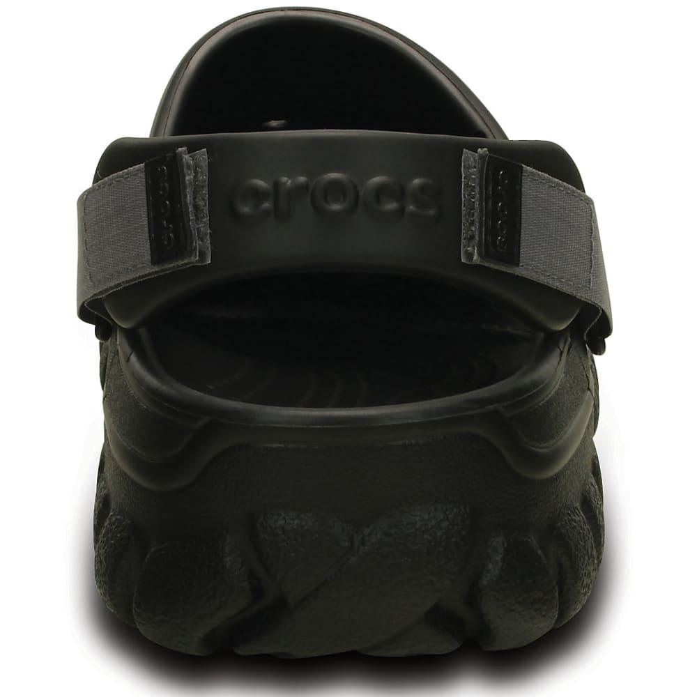 CROCS Men's Offroad Sport Clogs - BLACK/GRAPHITE- 02S