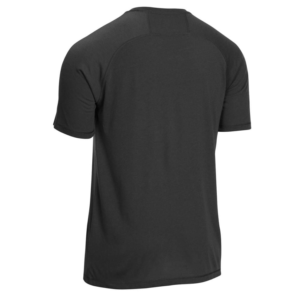 EMS Men's Techwick Vital Discovery Short-Sleeve Tee - BLACK