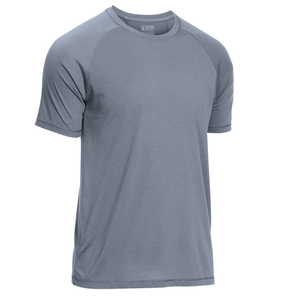 277b2f282 Ems Men's Techwick Vital Discovery Short-Sleeve Tee Neutral Grey Htr S