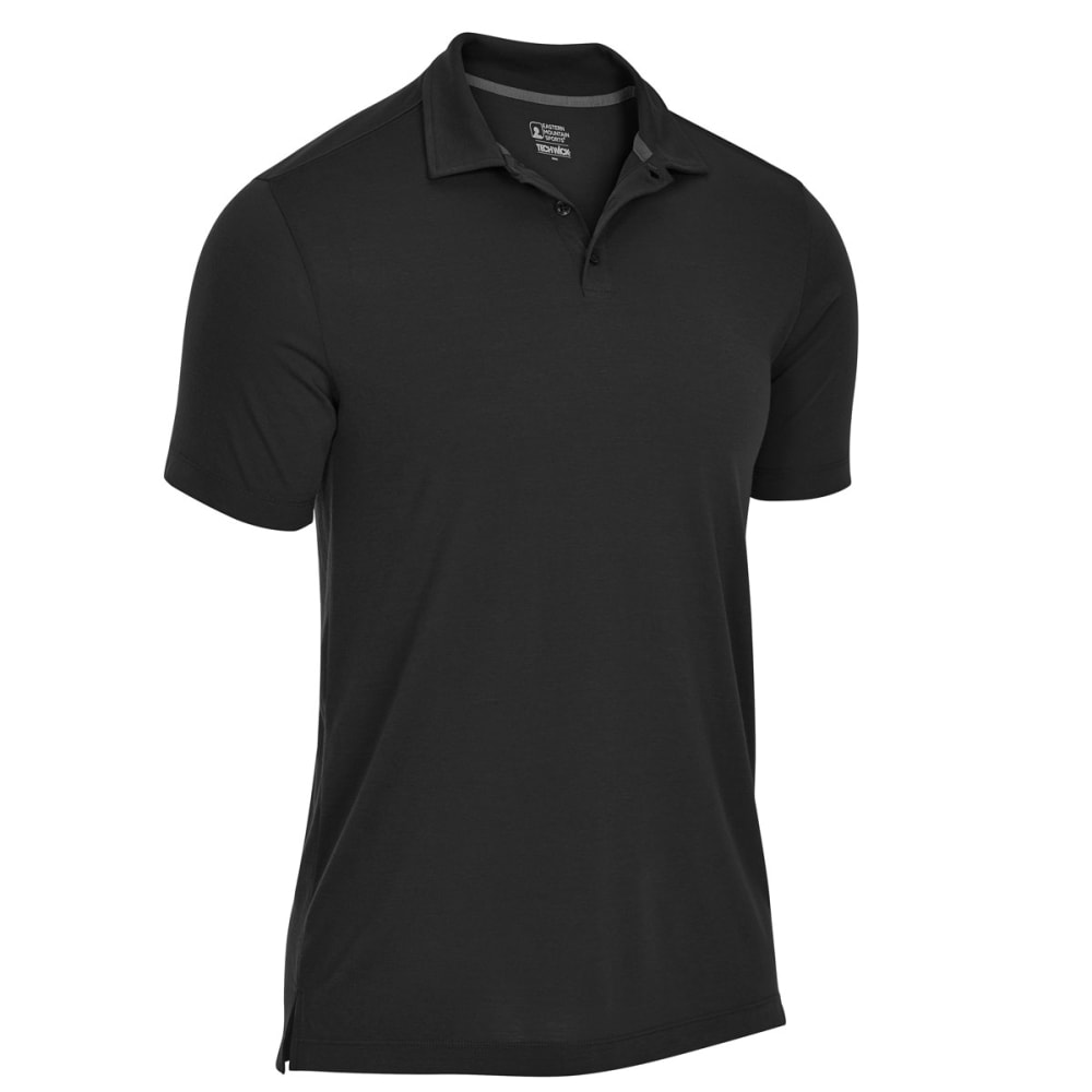 EMS Men's Techwick Vital Polo - BLACK