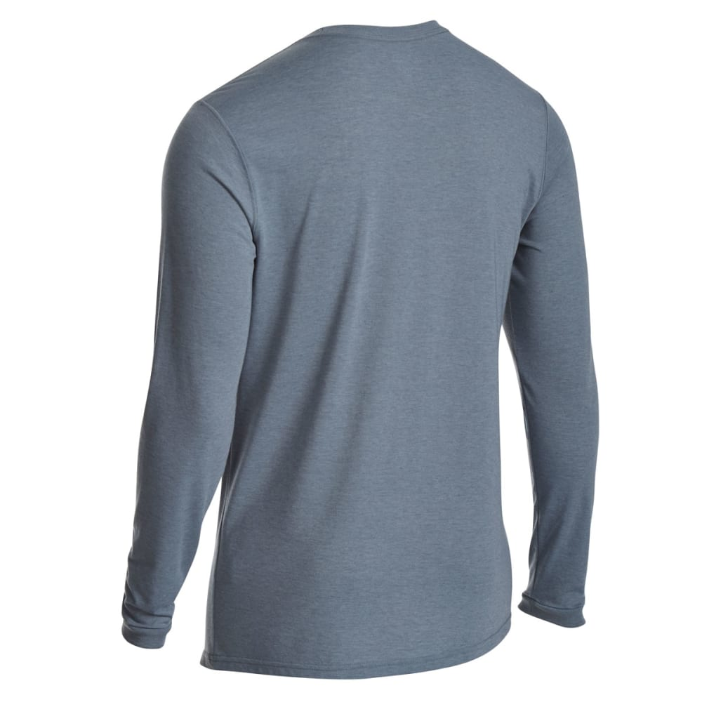EMS Men's Techwick Vital Pocket Long-Sleeve Tee - NEUTRAL GREY HTR