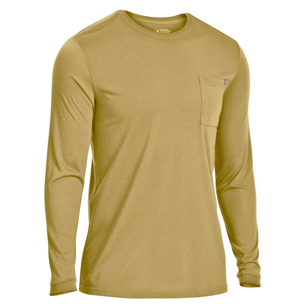 EMS Men's Techwick Vital Pocket Long-Sleeve Tee - MARTINI OLIVE
