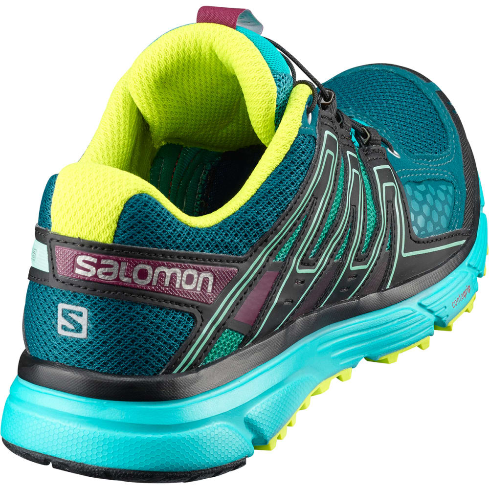 SALOMON Women's X-Mission 3 Trail Running Shoes - DP LAGOON - L401085