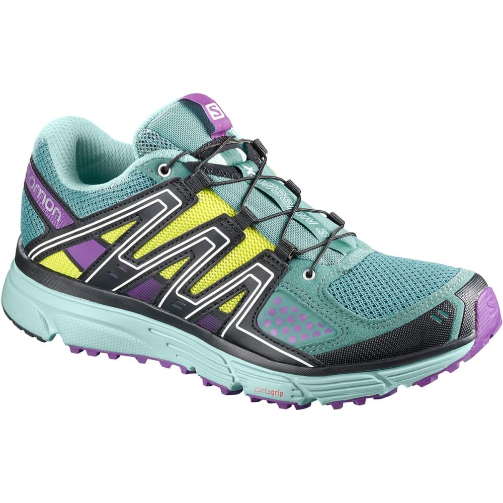 SALOMON Women's X-Mission 3 Trail Running Shoes - ATLANTIC- L402382