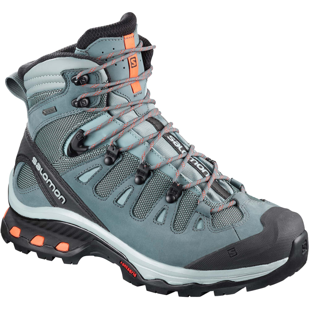 SALOMON Women's Quest 4d 3 GTX Waterproof Tall Hiking Boots - LEAD