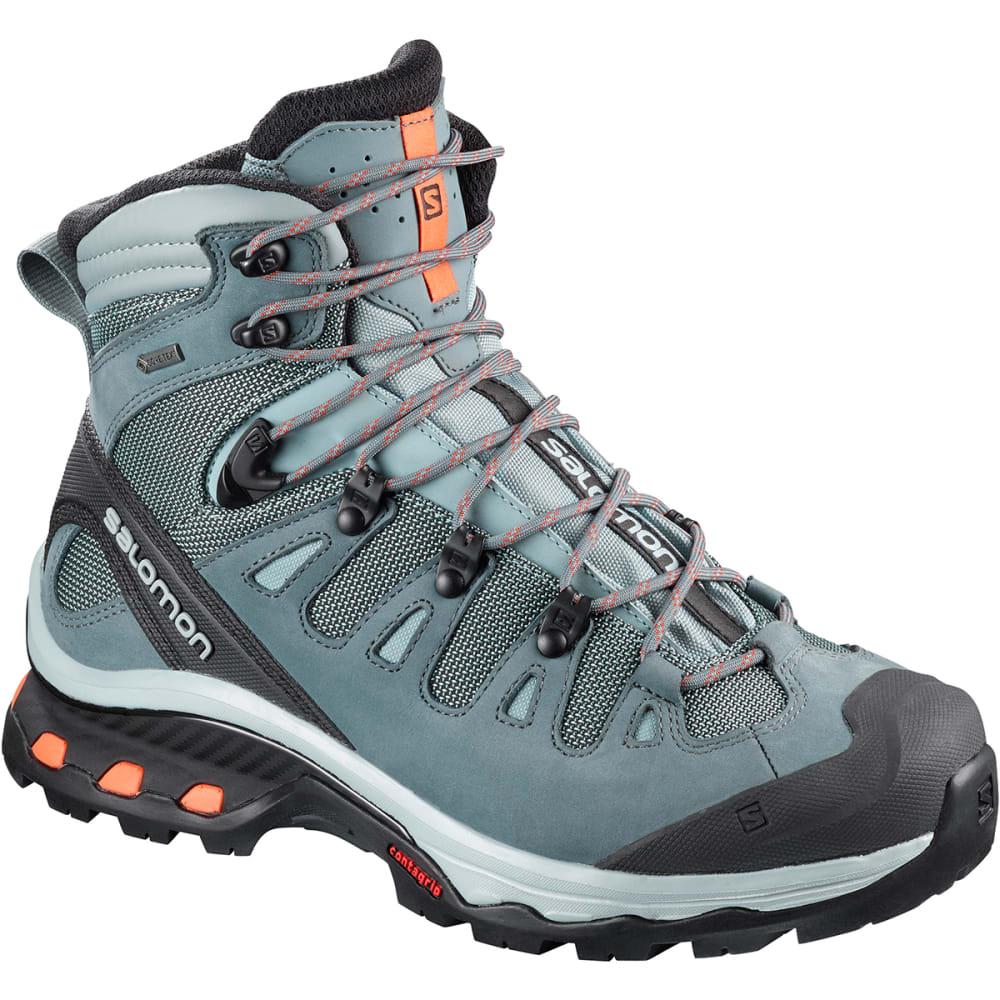dccde2a00394 SALOMON Women  39 s Quest 4d 3 GTX Waterproof Tall Hiking Boots - LEAD