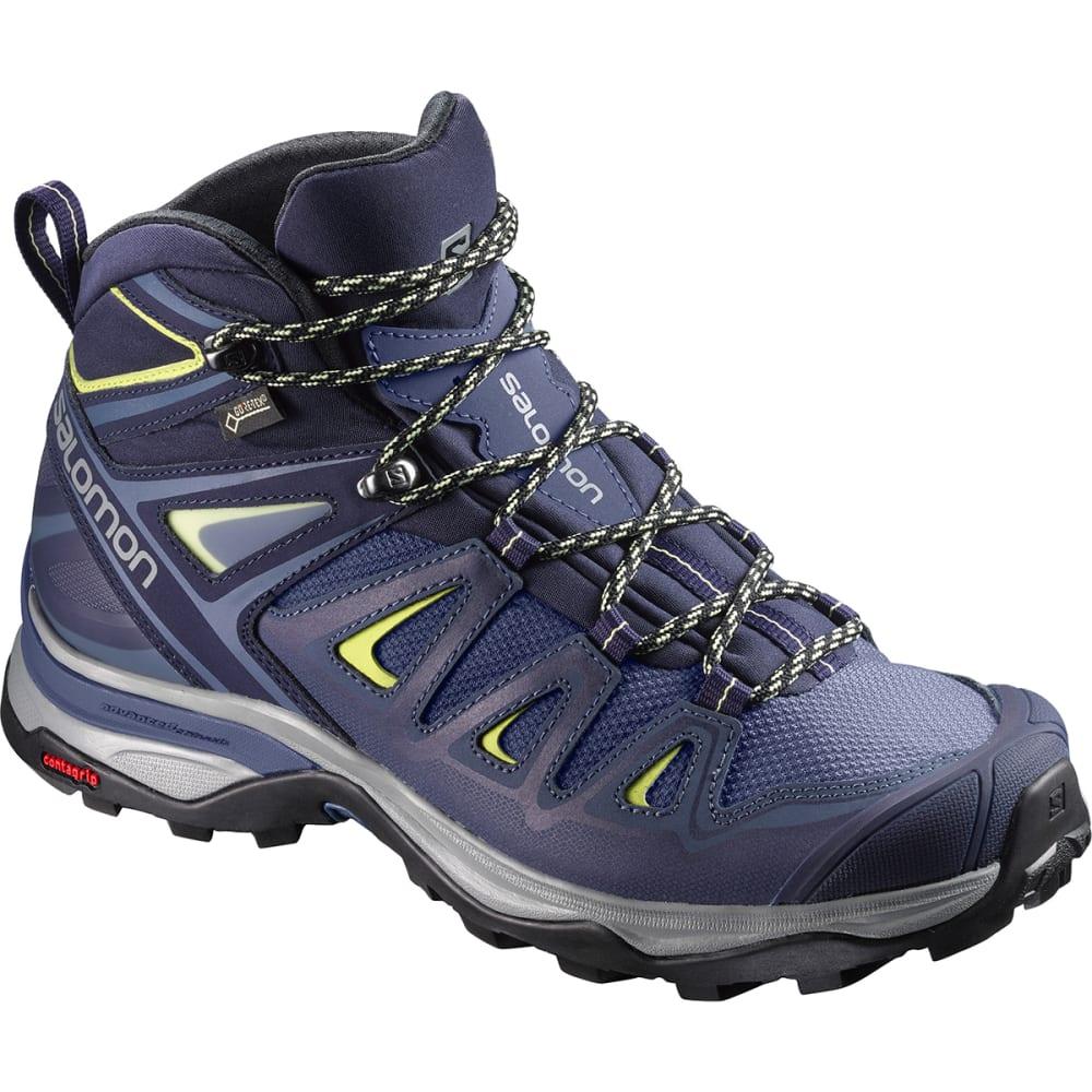 SALOMON Women's X Ultra 3 Mid GTX Waterproof Hiking Boots - CROWN BLUE-L398691