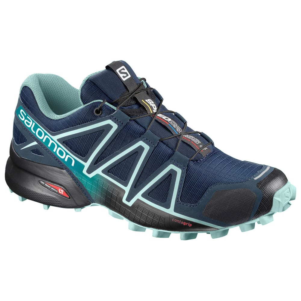 SALOMON Women's Speedcross 4 Trail Running Shoes - POSEIDON
