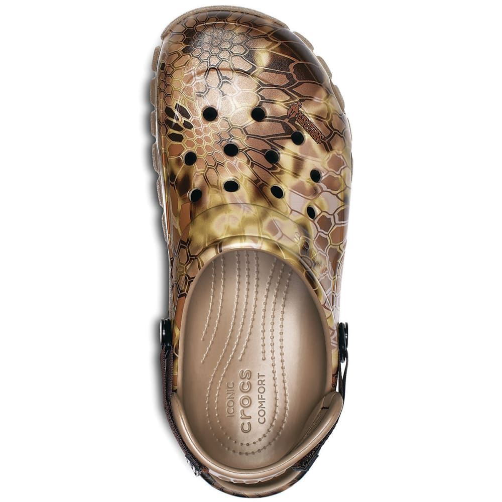 CROCS Men's Offroad Sport Kryptek Highlander Clogs - KHAKI