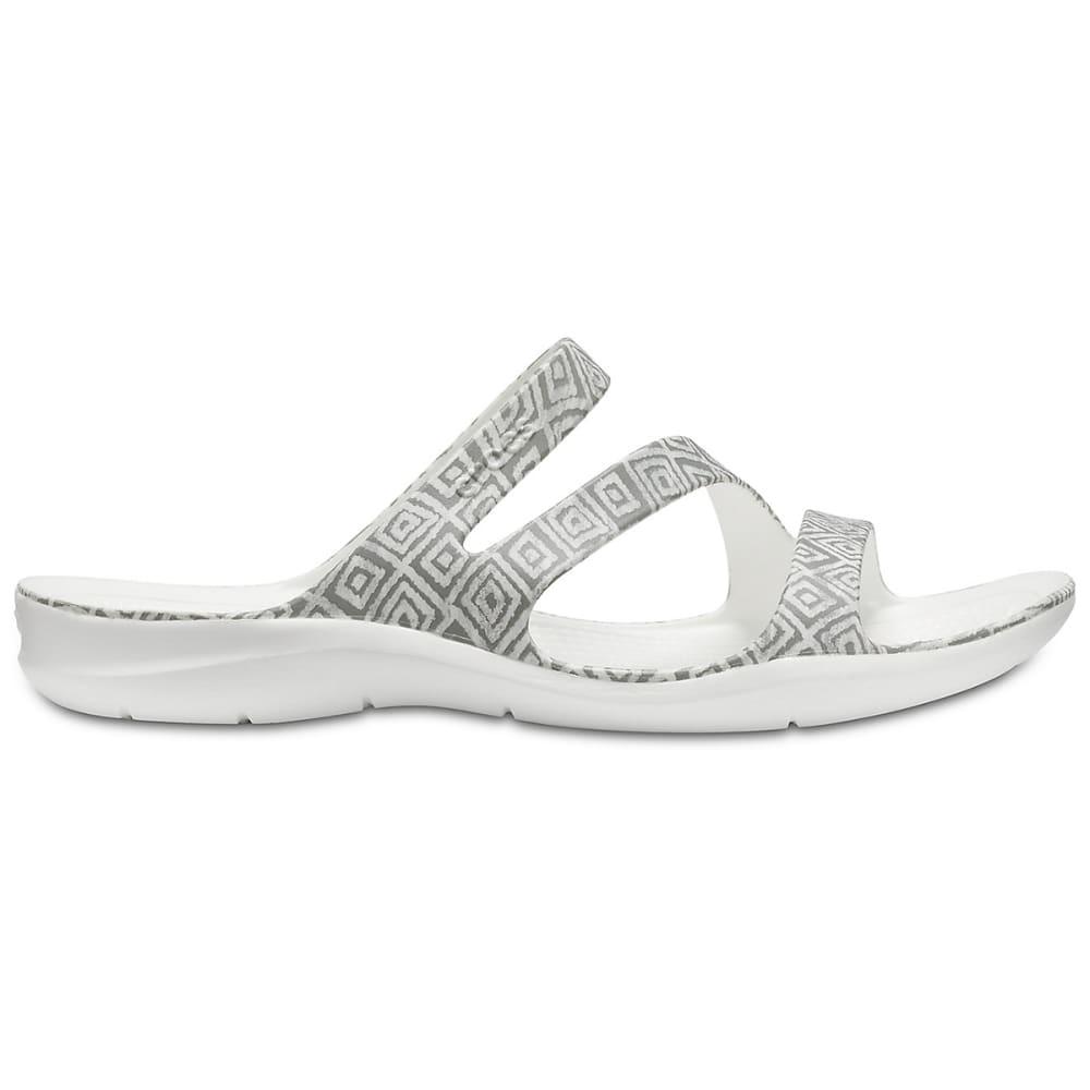 19d8283cb4c2 Crocs-Women-039-s-Swiftwater-Graphic-Sandals thumbnail 7