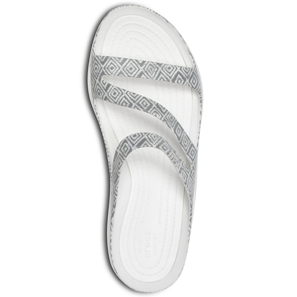 564e61a384ac CROCS Women s Swiftwater Graphic Sandals - Eastern Mountain Sports