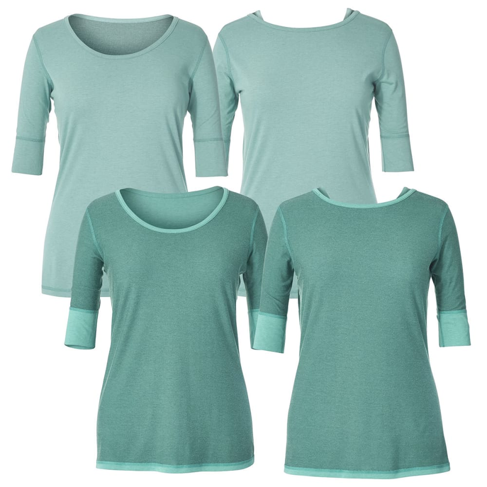ROYAL ROBBINS Women's Flip 'N' Twist Short-Sleeve Tee - OPAL