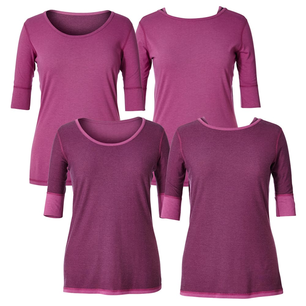 ROYAL ROBBINS Women's Flip 'N' Twist Short-Sleeve Tee - MEADOW MAUVE