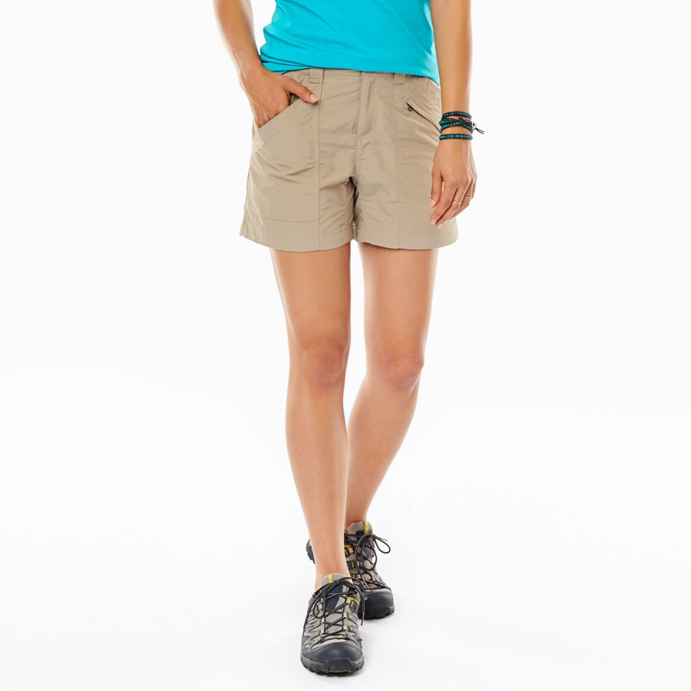 ROYAL ROBBINS Women's Backcountry Shorts - KHAKI