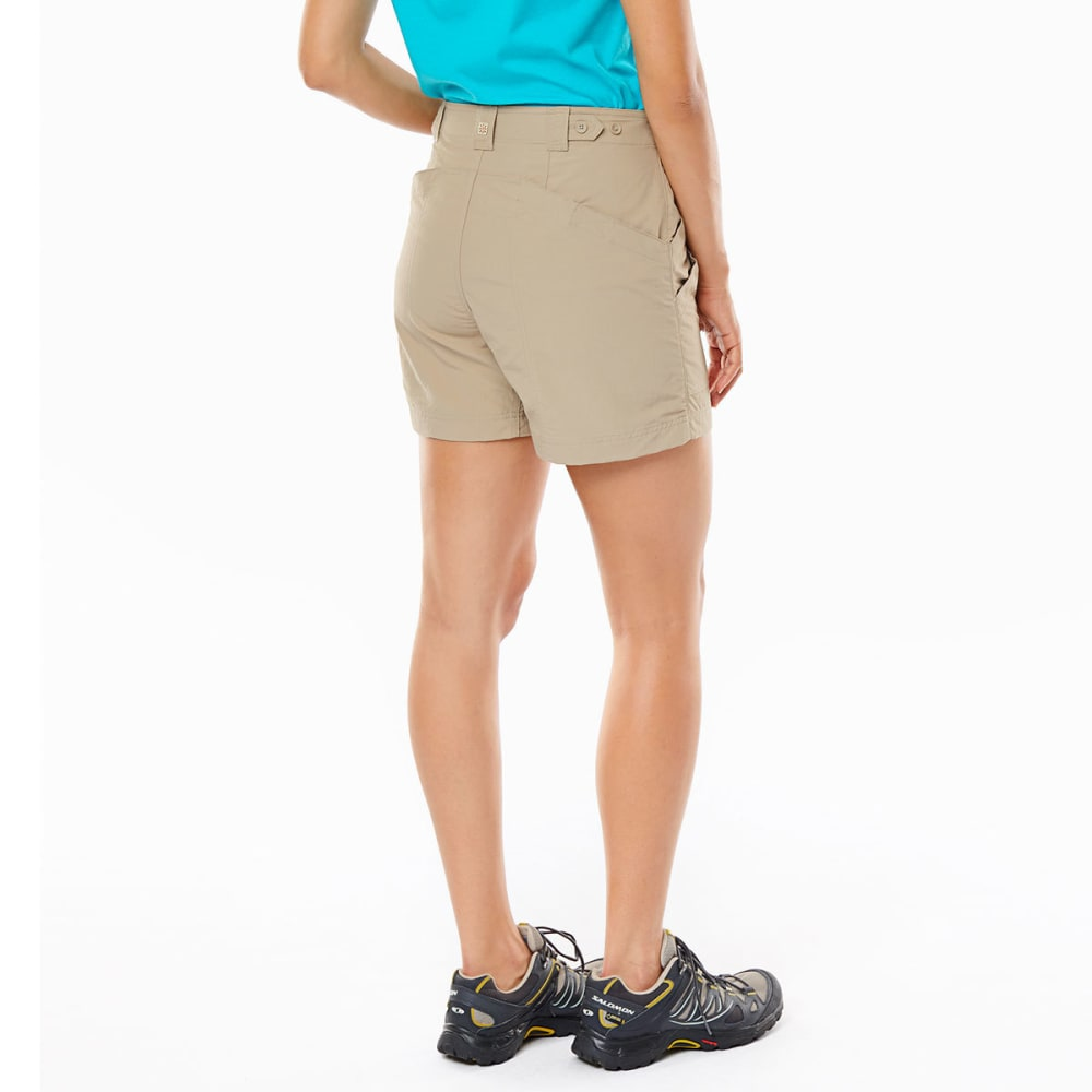 ROYAL ROBBINS Women's Backcountry Shorts - KHAKI
