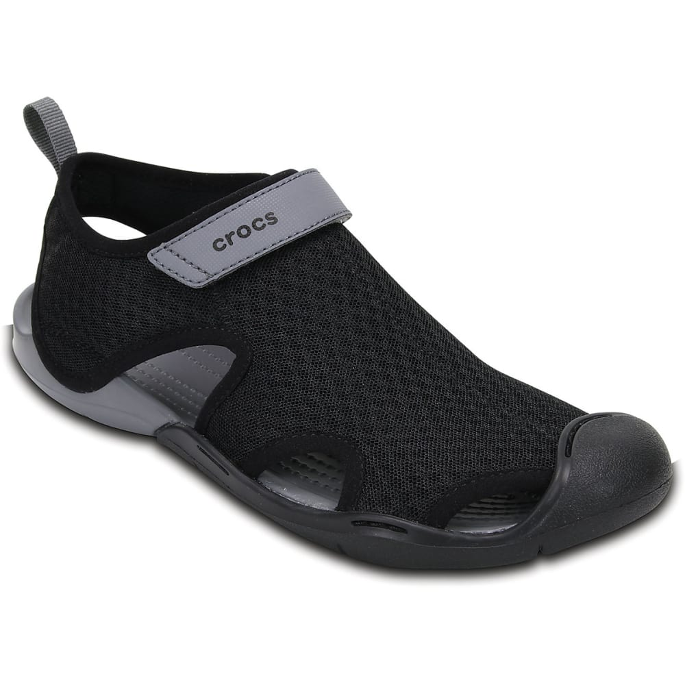 89677adb3657 CROCS Women  39 s Swiftwater Mesh Sandals - BLACK-001 ...