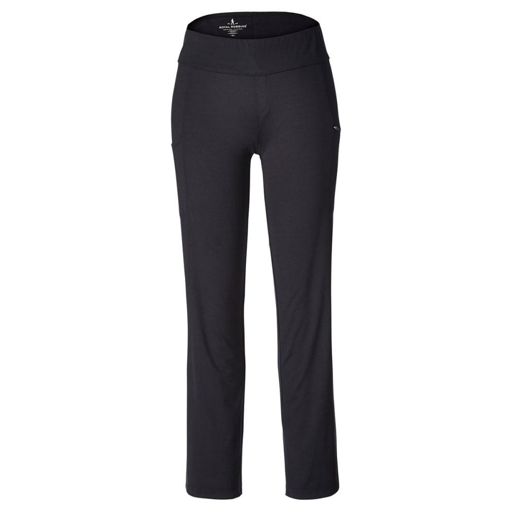ROYAL ROBBINS Women's Jammer Knit Pants - JET BLACK
