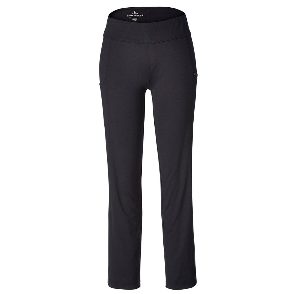 ROYAL ROBBINS Women's Jammer Knit Pants - JET BLACK