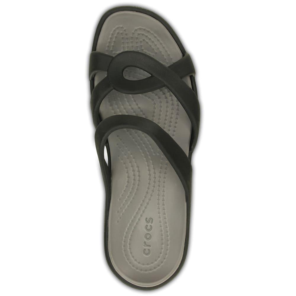 70b5313f6a7c ... CROCS Women rsquo s Meleen Twist Sandals - BLACK SMOKE - ...