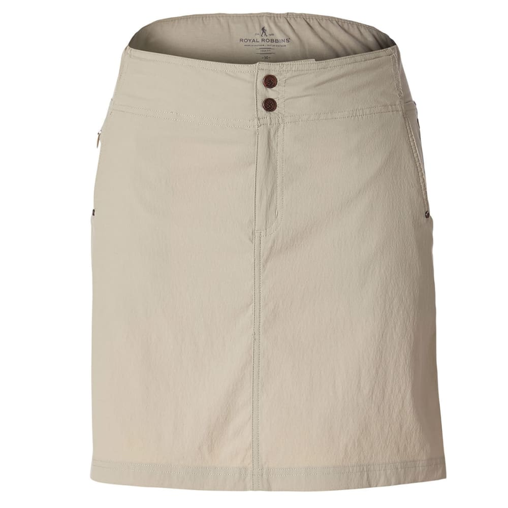 ROYAL ROBBINS Women's Jammer II Skirt - LT KHAKI
