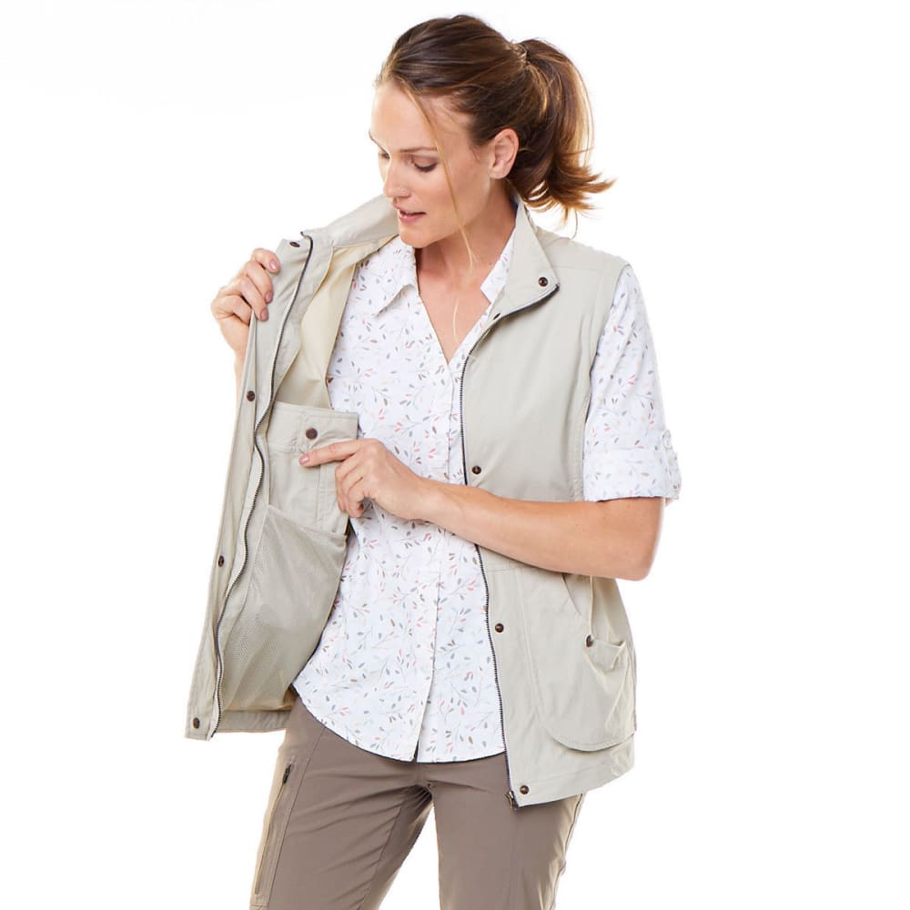 ROYAL ROBBINS Women's Discovery Convertible Jacket - SANDSTONE
