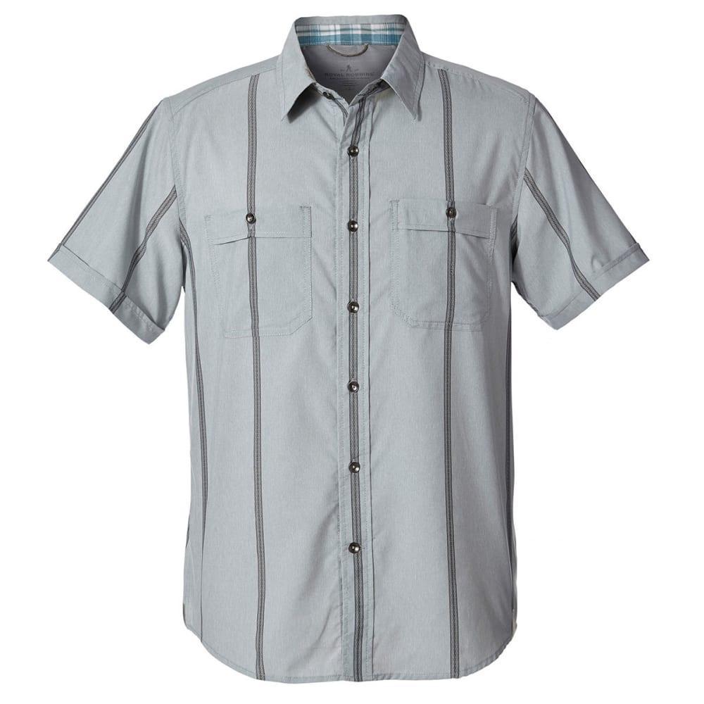 ROYAL ROBBINS Men's Vista Dry Short-Sleeve Shirt - LT PELICAN