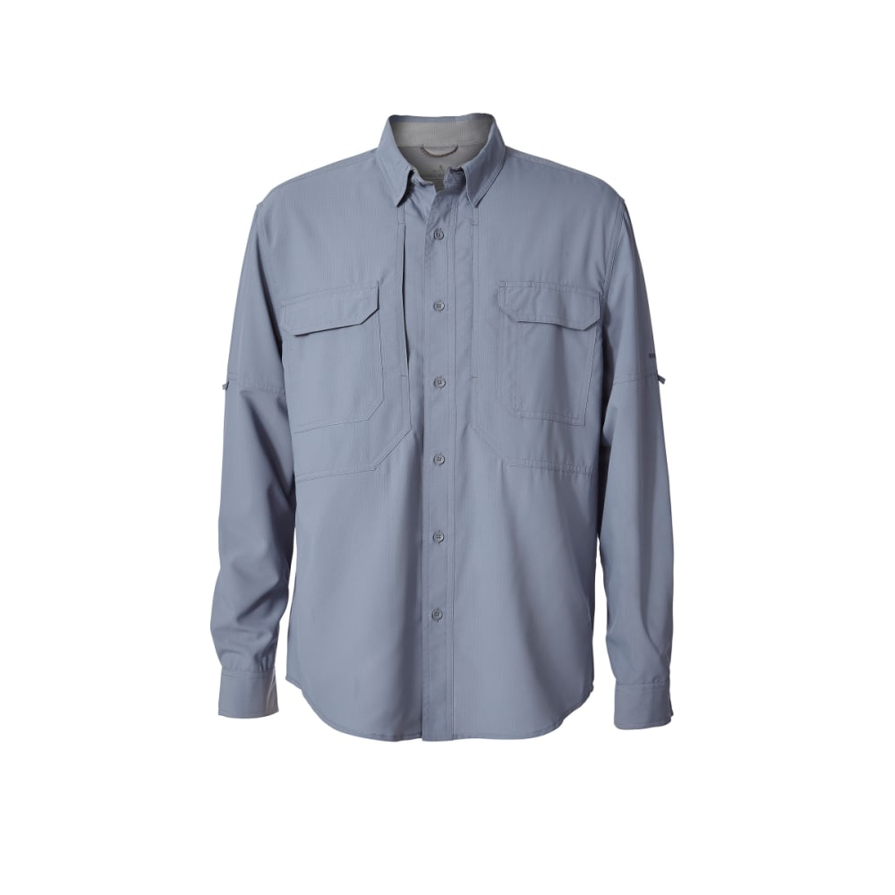 ROYAL ROBBINS Men's Bug Barrier Expedition Long-Sleeve Shirt - TRADEWINDS