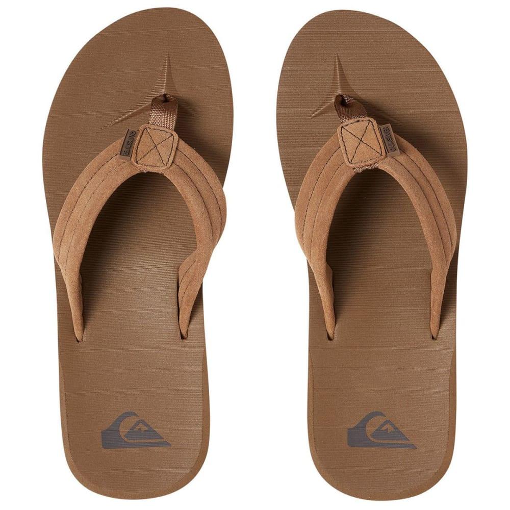 0157d1878270 QUIKSILVER Boys  Carver Flip Flop Sandals - Eastern Mountain Sports