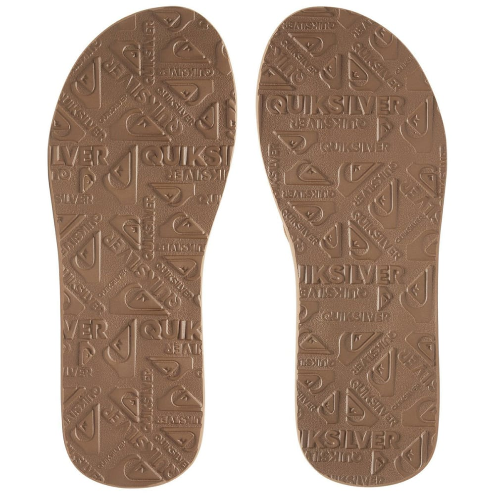 0157d1878270 QUIKSILVER Boys  Carver Flip Flop Sandals - Eastern Mountain Sports