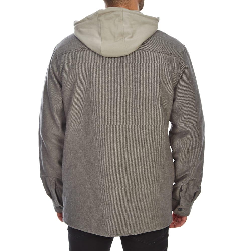 G.H. BASS & CO. Men's Hooded Work Shirt - PHANTOM-063