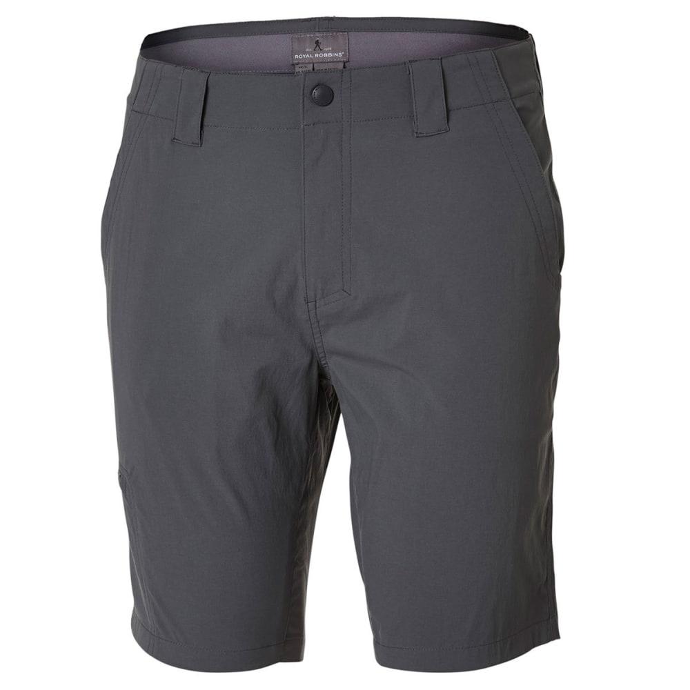ROYAL ROBBINS Men's Everyday Traveler Shorts - CHARCOAL