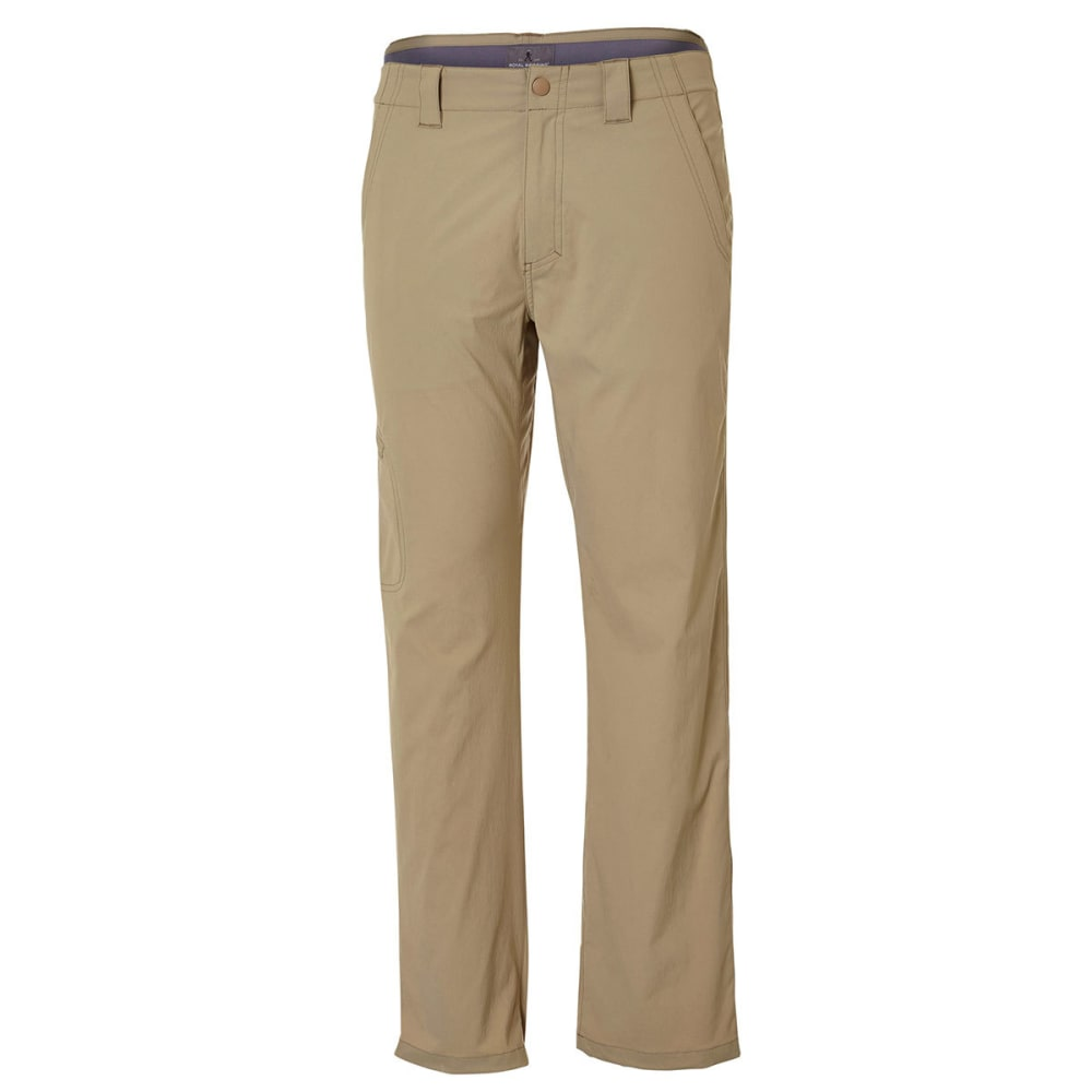 ROYAL ROBBINS Men's Bug Barrier Everyday Traveler Pants - KHAKI