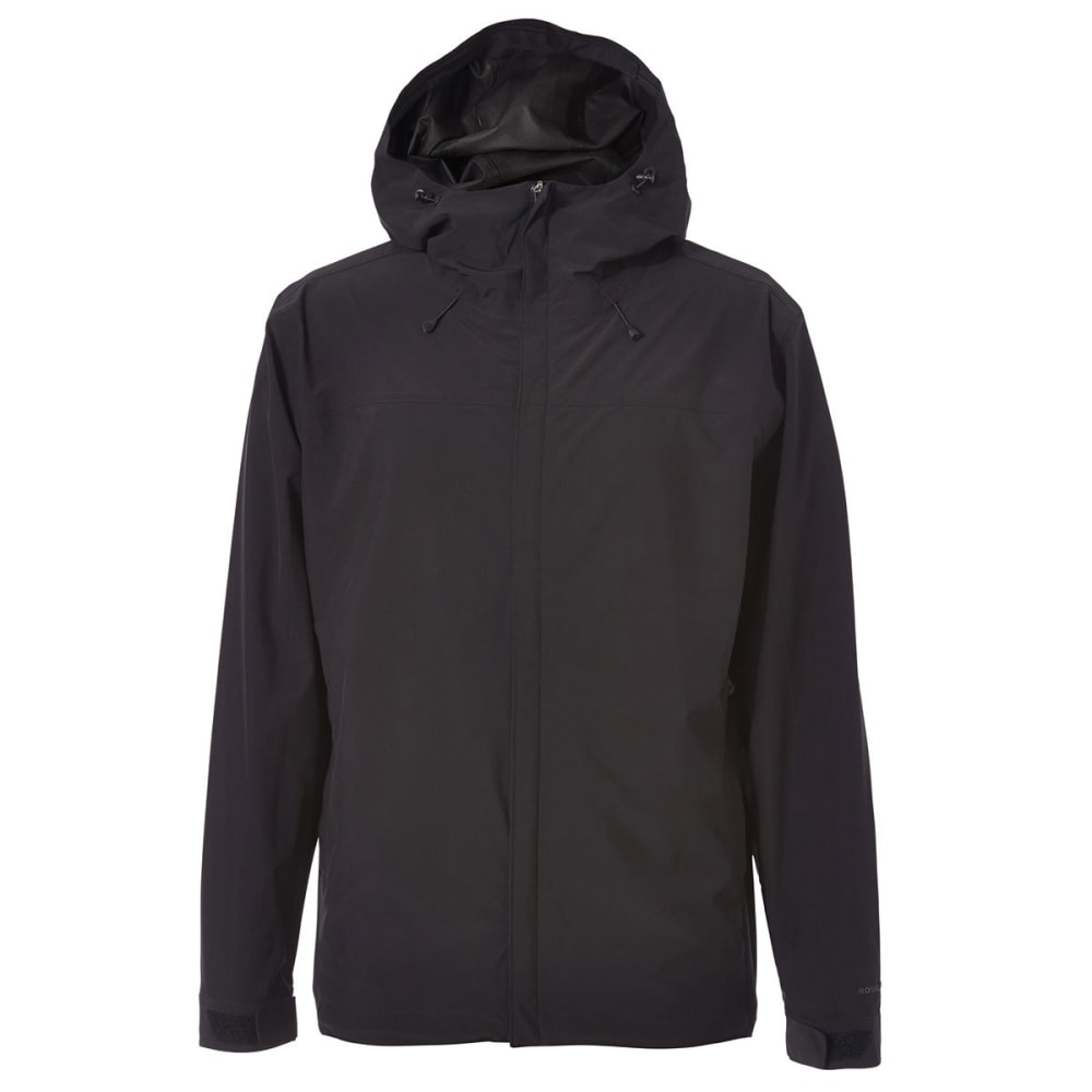 ROYAL ROBBINS Men's Oakham Waterproof Jacket - JET BLACK