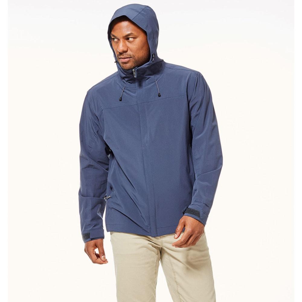 ROYAL ROBBINS Men's Oakham Waterproof Jacket - NAVY