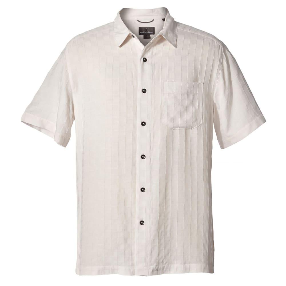 ROYAL ROBBINS Men's San Juan Dry Short-Sleeve Shirt - QUARTZ