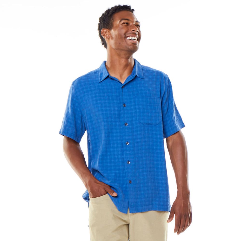 ROYAL ROBBINS Men's San Juan Dry Short-Sleeve Shirt - ABYSS