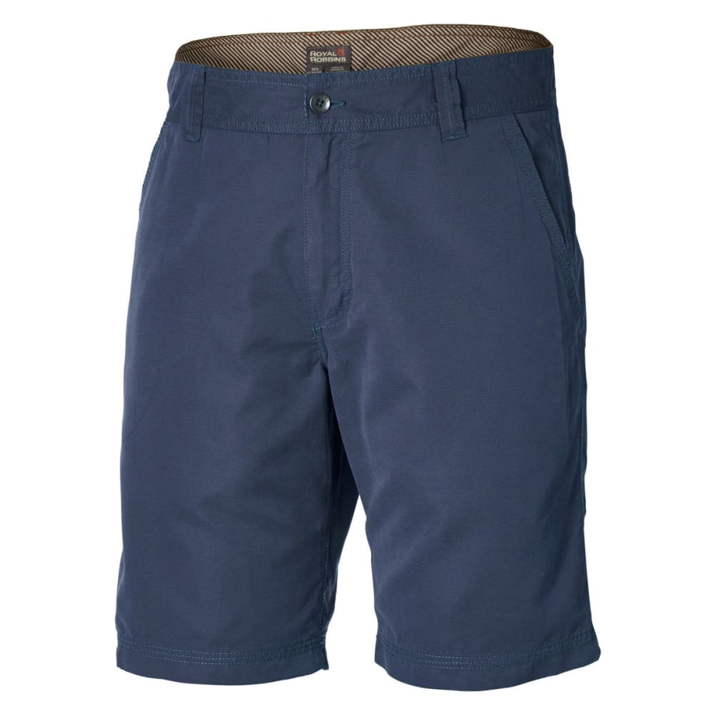 ROYAL ROBBINS Men's Convoy Shorts - DEEP BLUE