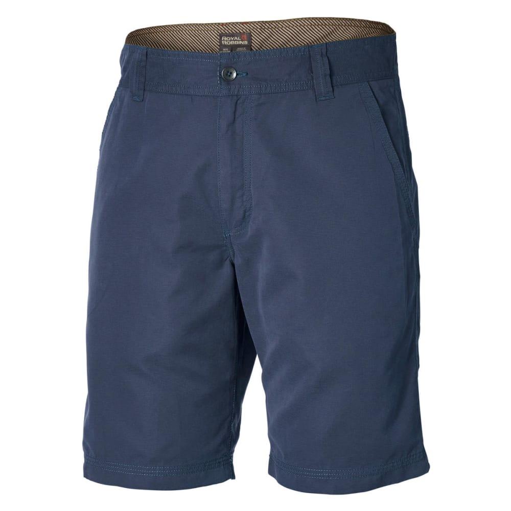 ROYAL ROBBINS Men's Convoy Shorts - DEEP BLUE
