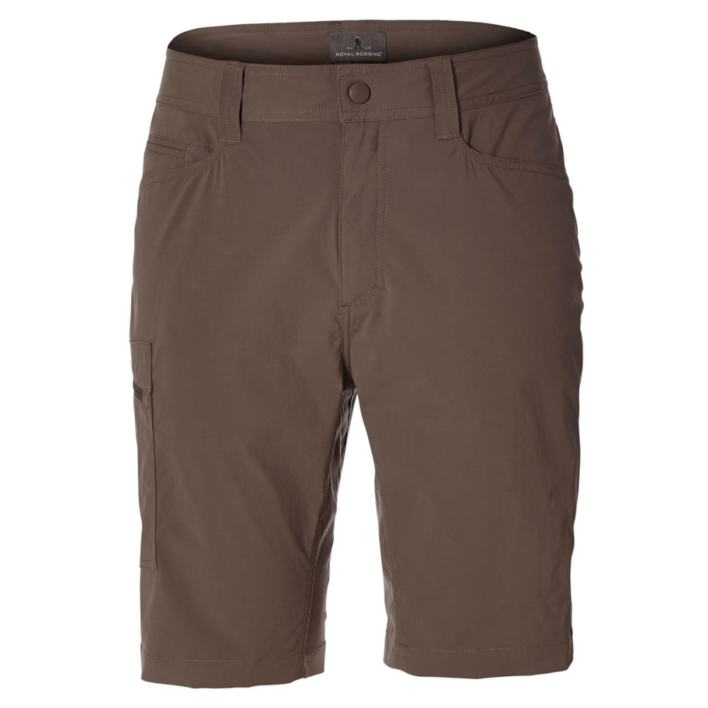 ROYAL ROBBINS Men's 10 in. Active Traveler Stretch Shorts - FALCON