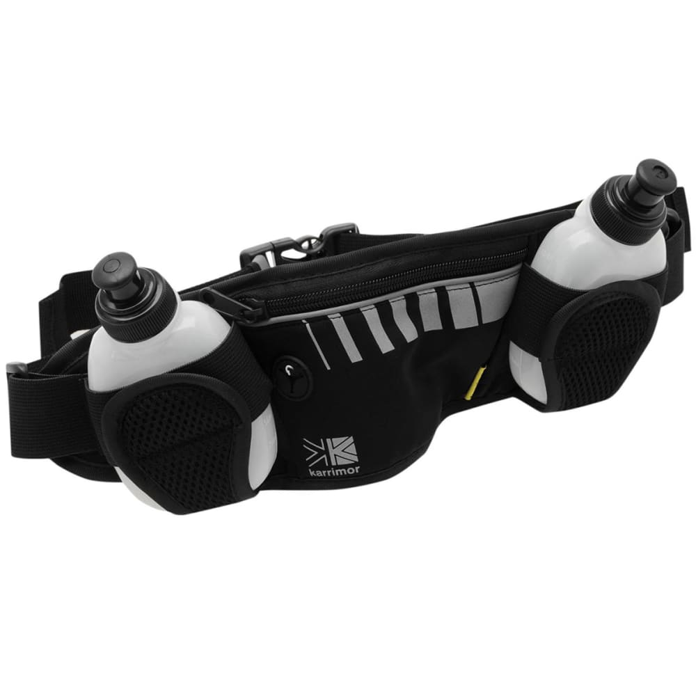 KARRIMOR 2-Bottle Running Belt - BLACK