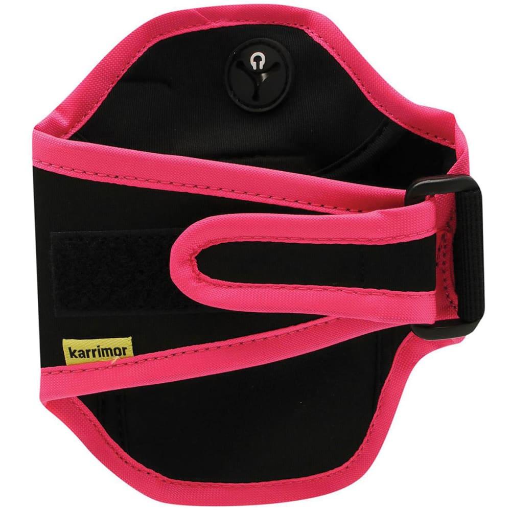 KARRIMOR Phone Armband - BLACK/PINK