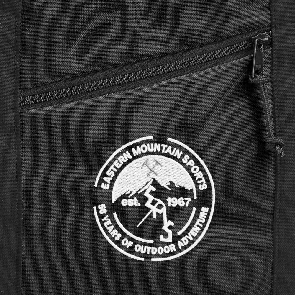 FLOWFOLD 16L EMS 50th Anniversary Zip Porter Tote Bag - BLACK