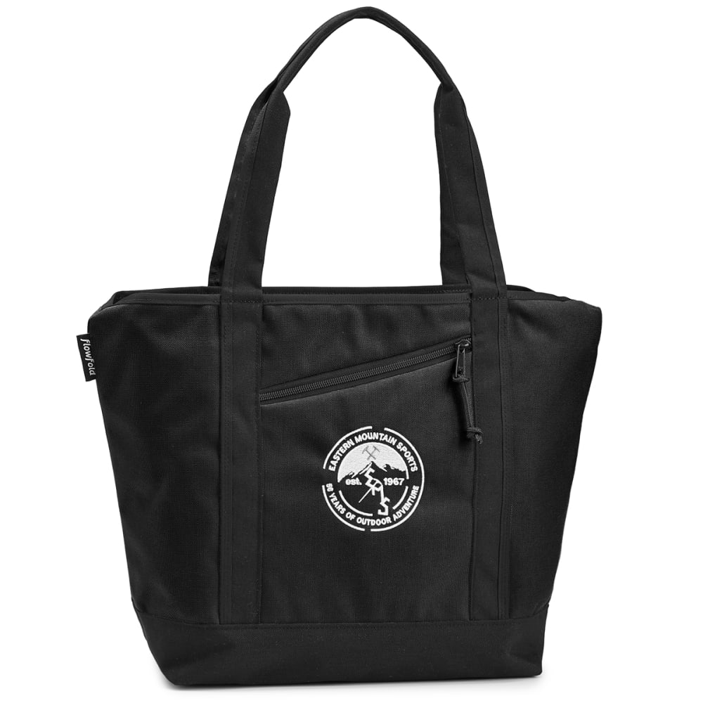 FLOWFOLD 16L EMS 50th Anniversary Zip Porter Tote Bag - BLACK