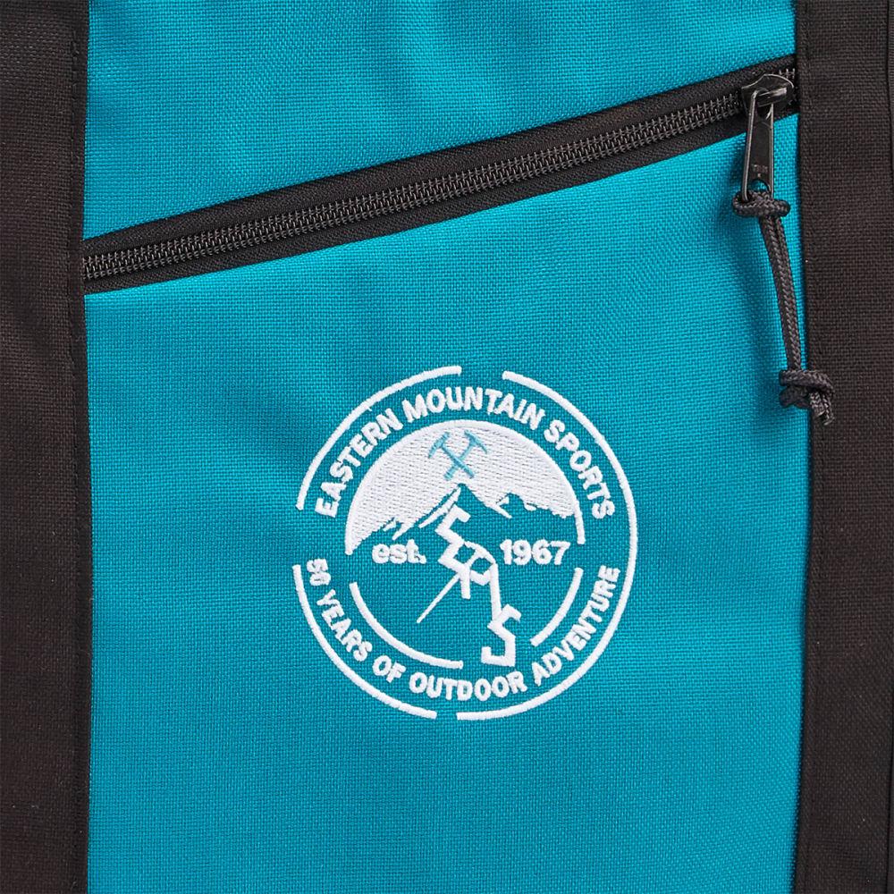 FLOWFOLD 16L EMS 50th Anniversary Zip Porter Tote Bag - AQUA