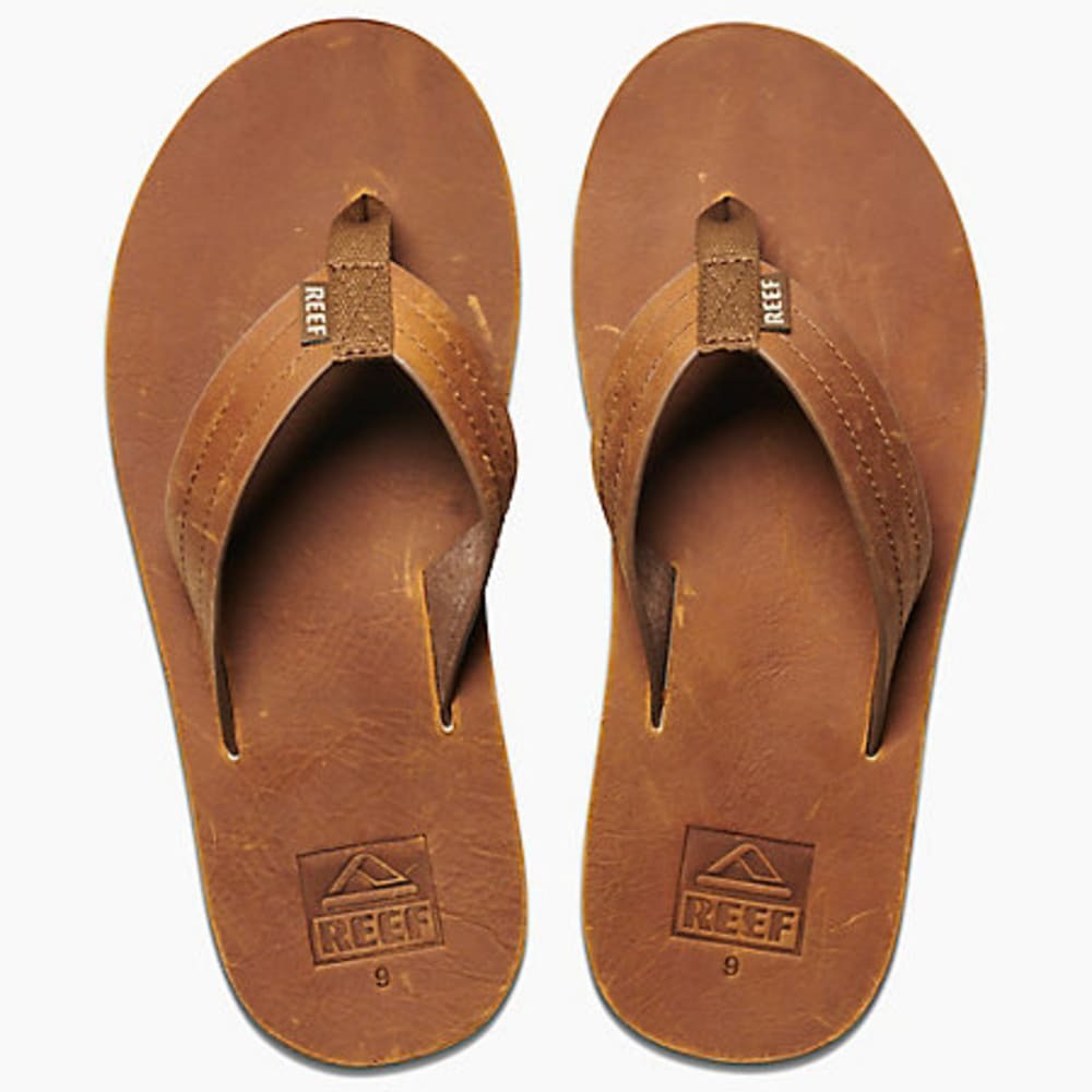 REEF Men's Reef Voyage LE Sandals - BROWN/BRONZE